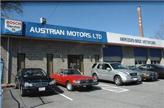 Austrian Motors, LTD. Mercedes-Benz Service and Repair