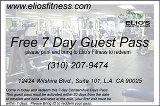 Elio's Fitness for Success
