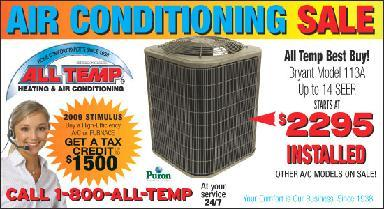 All Temp Chicagoland Heating And Air Conditioning