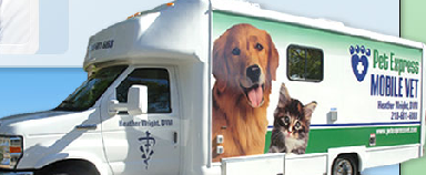 Pet Express Mobile Vet Heather Wright DVM