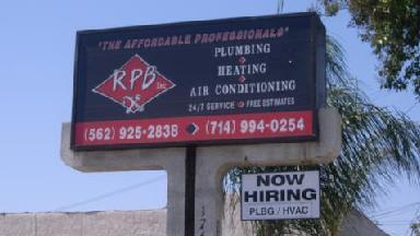 Rpb Plumbing Heating & Ac Inc - Homestead Business Directory