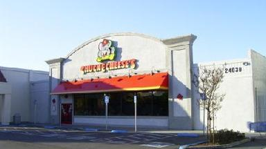 chuck e cheese evansville in