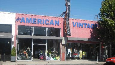 american vintage clothing in los angeles ca 90046