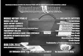 Notary Public Downtown Los Angeles - Los Angeles, CA