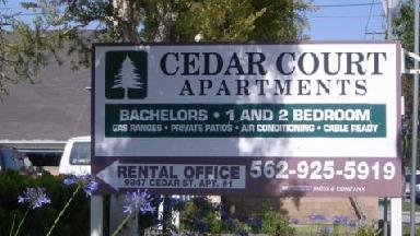 Cedar Court Apartments - Homestead Business Directory