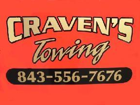 Craven's Towing - Charleston, SC
