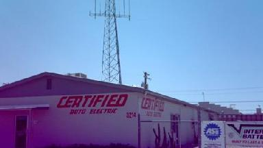 Certified Auto Electric Inc - Homestead Business Directory
