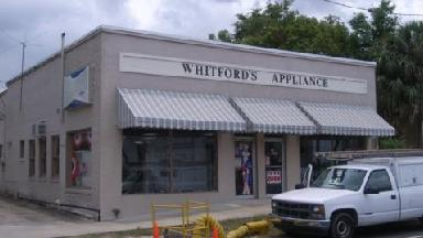 Whitford's Appliance Sales-svc - Homestead Business Directory