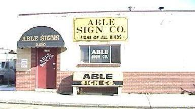 Able Sign Co Inc - Homestead Business Directory