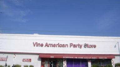 Vine American Party Supplies