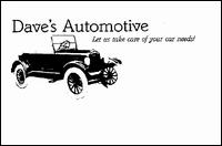 Dave's Automotive - Homestead Business Directory