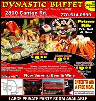 Dynastic Buffet - Homestead Business Directory