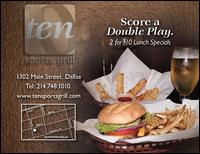 Ten Sports Grill - Homestead Business Directory