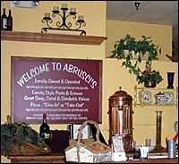 Abrusci's Italian Restaurant - Homestead Business Directory