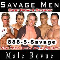 Savage Men Male Strip Clubs