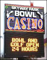 Skyway Park Bowl Poker Room