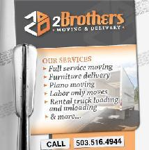 2brothers Moving & Delivery