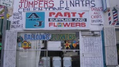 A & J Party Supply & Flowers - Homestead Business Directory