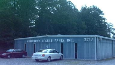 Humphries Textile Parts Inc - Homestead Business Directory
