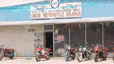 Union Motorcycle Salvage Houston Tx 77087 Business Listings