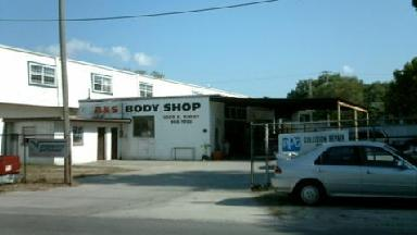 A Amp S Body Shop Inc Tampa Fl 33617 Business Listings