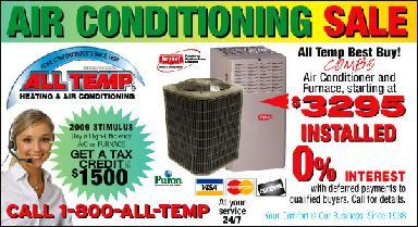 All Temp Heating & Air Cond