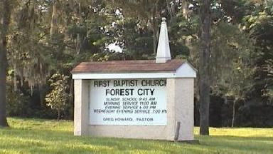 First Baptist Of Forest City - Homestead Business Directory