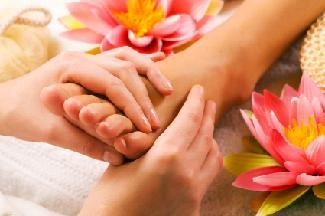 Golden Touch Herbal Foot Massage