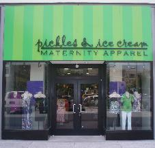 Pickles & Ice Cream Maternity Apparel