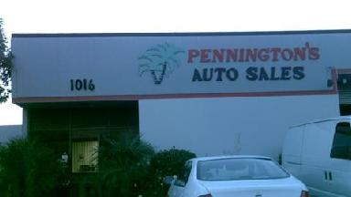 Pennington's Auto Sales & Lsng - Homestead Business Directory