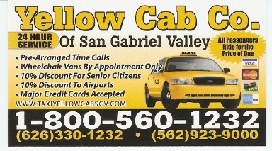 A-1 Yellow Cab - Homestead Business Directory