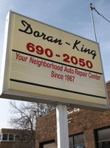 Doran King Garage - Saint Paul, MN