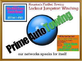 Prime Auto Towing - Houston, TX