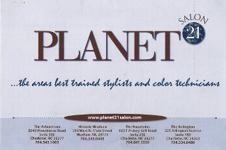 Planet 21 Salon - Charlotte, NC