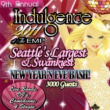Indulgence New Year's Eve Party, at the Experience Music Project (EMP) - Seattle, WA
