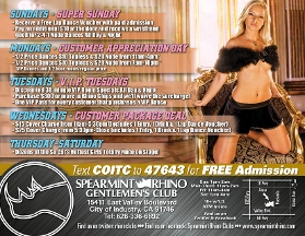 Spearmint Rhino Club - La Puente, CA