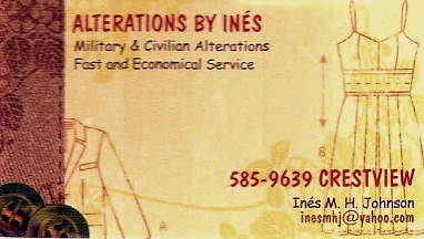 Alterations By Ines - Homestead Business Directory