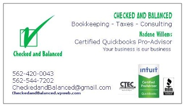Checked & Balanced - Homestead Business Directory