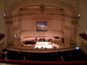 Carnegie Hall - Isaac Stern Auditorium - New York, NY