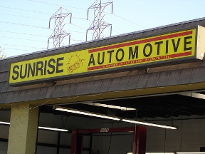 Sunrise Automotive - Westminster, CA