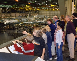 Future of Flight Aviation Center & Boeing Tour - Mukilteo, WA
