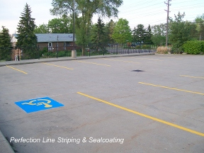 Perfection Line Striping & Sealcoating - Willoughby, OH
