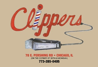 clippers inc. internet cafe. barber shop  - Chicago, IL