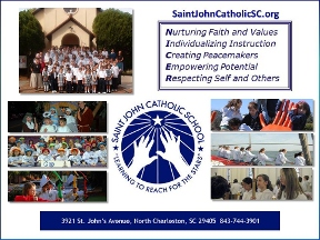 Saint John Catholic School - N. Charleston, SC