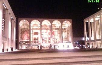 Lincoln Center for the Performing Arts - Avery Fisher Hall - New York, NY
