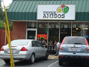 Three Amigos Mexican Restaurant and Cantina - Charlotte, NC