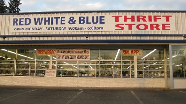 Red White & Blue Thrift Store - Gladstone, OR
