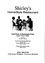 Shirley's Homestyle Restaurant - Grandview, MO