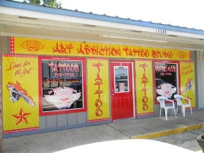 Art Addiction Tattoo Studio - Baton Rouge, LA