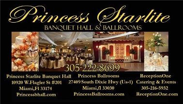 Princess Starlite Banquet Hall Miami Fl 33174